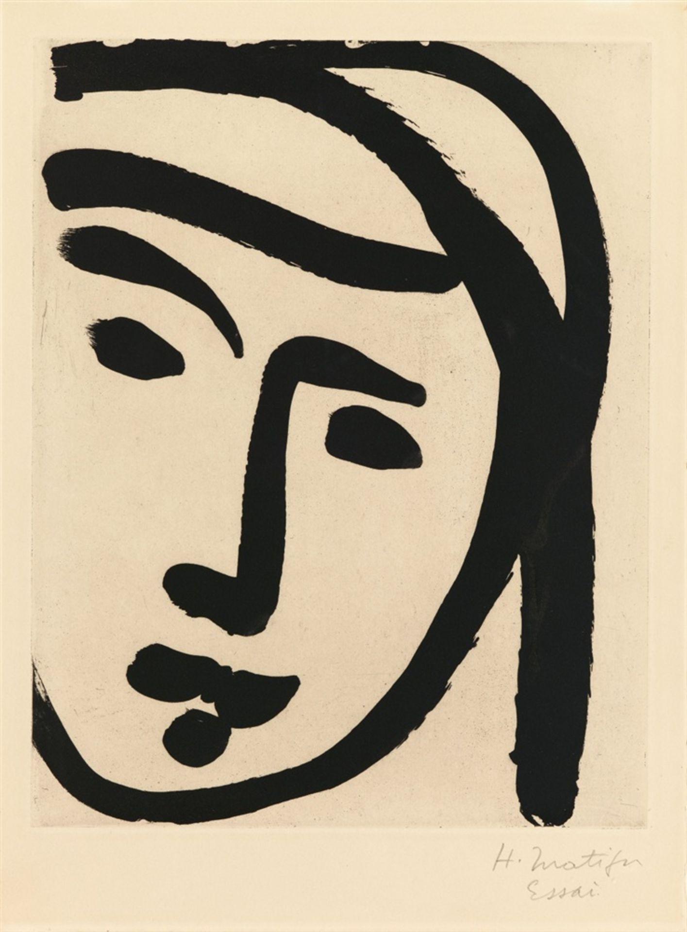 Henri MatisseBédouine au large visage