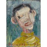 Holmead (Clifford Holmead Philipps)Junger Mann im gelben Pullover