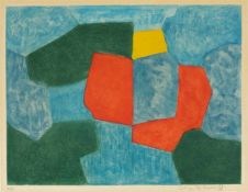 Serge PoliakoffComposition verte, bleue, rouge et jaune