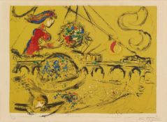 Marc ChagallÎle Saint-Louis