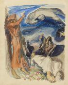 Ludwig MeidnerAllegorische Szene (Figuren in Landschaft)