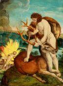 Deutscher Meister Ende 16. JahrhundertDrei Taten des Herkules