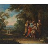 Flämischer Meister des 17. JahrhundertsChristus segnet einen PilgerChristus heilt eine B