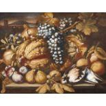 Abraham BrueghelFrüchtestillleben mit Vögeln
