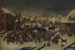 Pieter Brueghel d. J., nachKindermord in Bethlehem