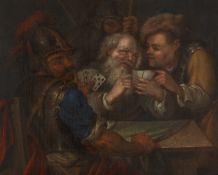 Niederländischer Meister des 17. JahrhundertsKartenspieler