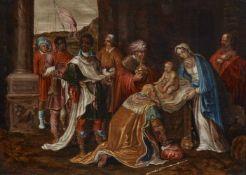 Deutscher Meister 17. JahrhundertAnbetung der Heiligen drei Könige