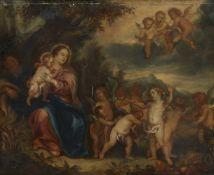 Pieter van Avont, NachfolgeHeilige Familie umgeben von Putten
