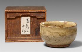 Schale. Ki-Seto-Ware. Provinz Owari. Edo-Zeit