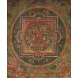 Mandala des Buddha Shakyamuni. Tibet. 18. Jh.