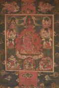 Thangka des Hayagriva. Tibet. 18./19. Jh.