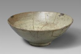 Sommer-chawan. Karatsu-Ware. Momoyama- oder frühe Edo-Zeit