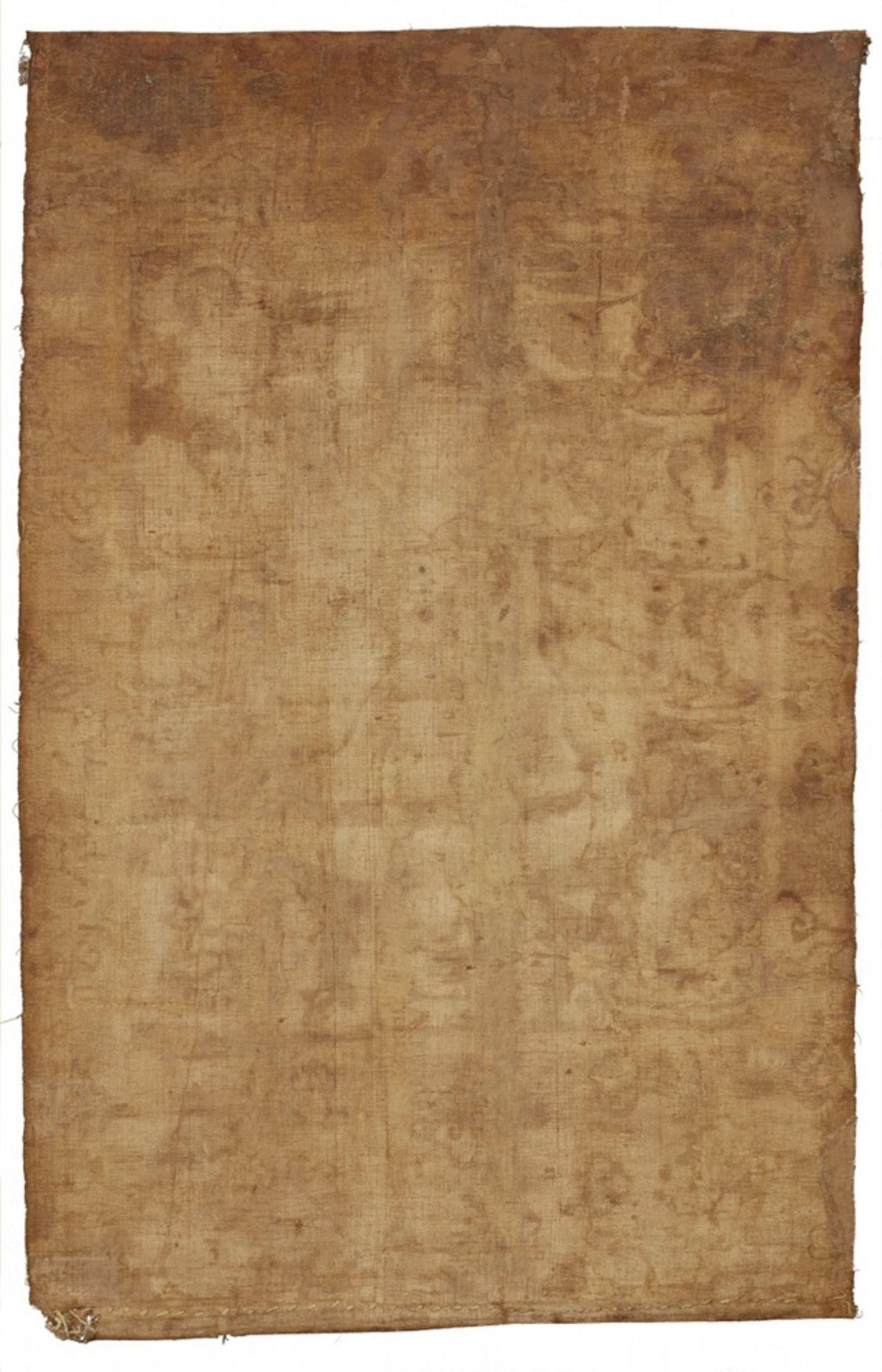 Thangka des Hayagriva. Tibet. 18./19. Jh. - Bild 2 aus 2
