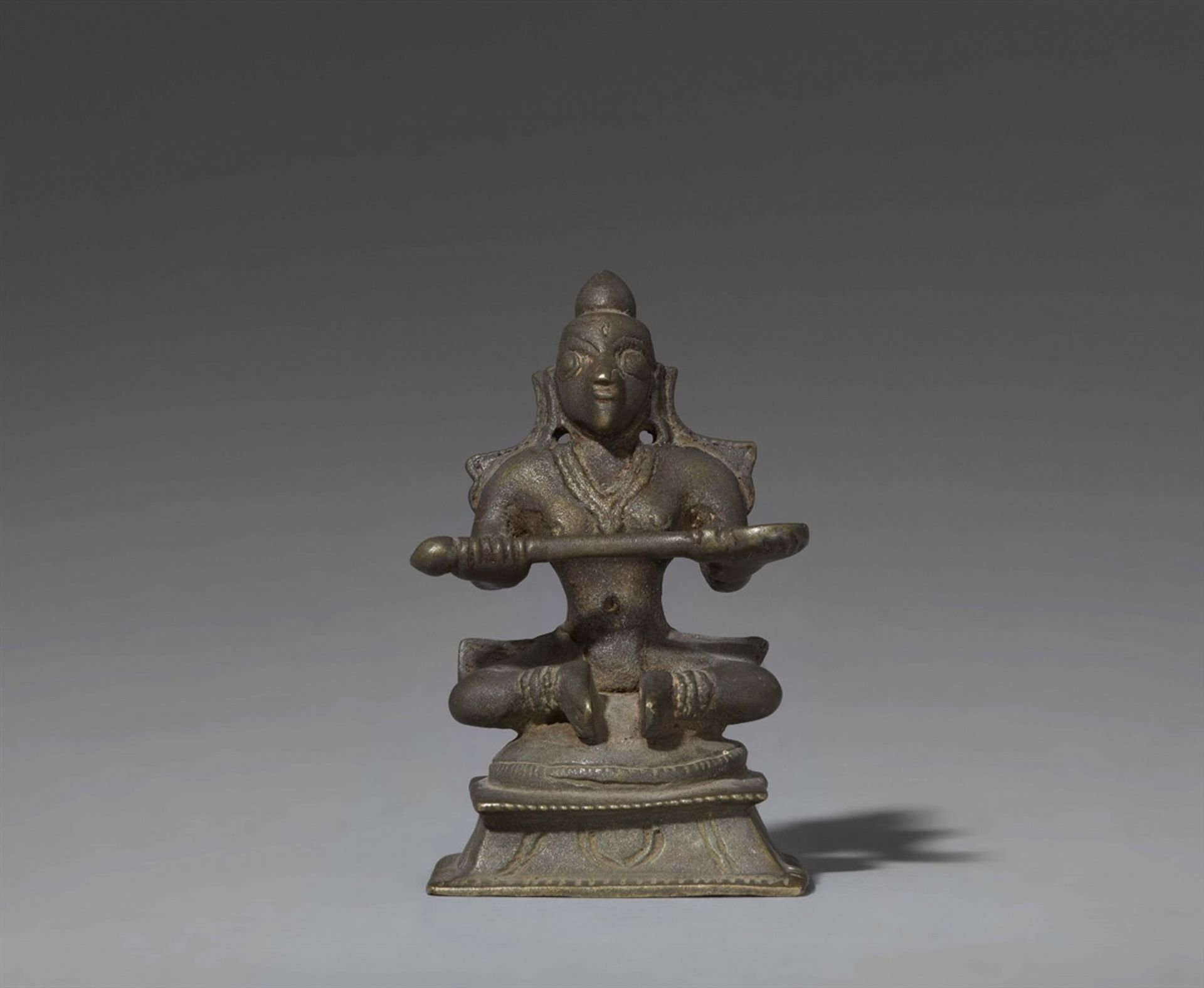 Annapurna. Bronze. Süd-Indien, Karnataka. 19. Jh.