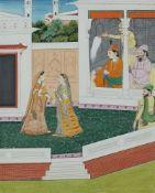 Anonymer Maler. Nord-Indien. Punjab-Gebiet. 19. Jh.