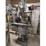 Sharp Vertical Milling Machine with DRO & Feed
