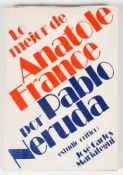 "France, Anatole ; Pablo Neruda, [ed. lit.]. ""Lo mejor de Anatole France"". (The best of Anatole"