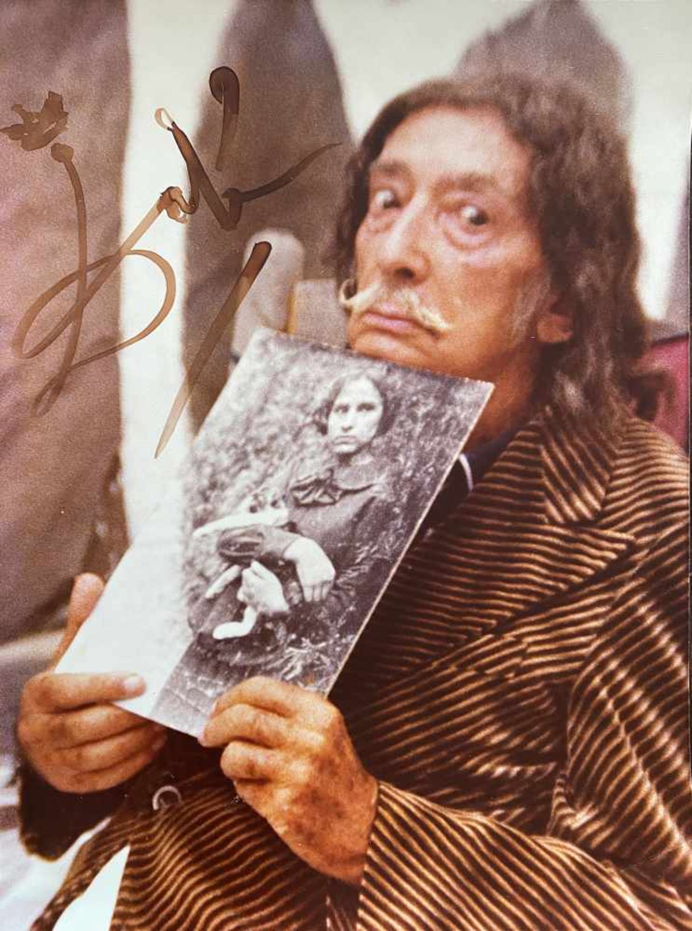 Los 13A - Salvador Dalí (Figueres, 1904 - 1989) Salvador Dalí (Figueres, 1904 - 1989) Photograph of Salvador