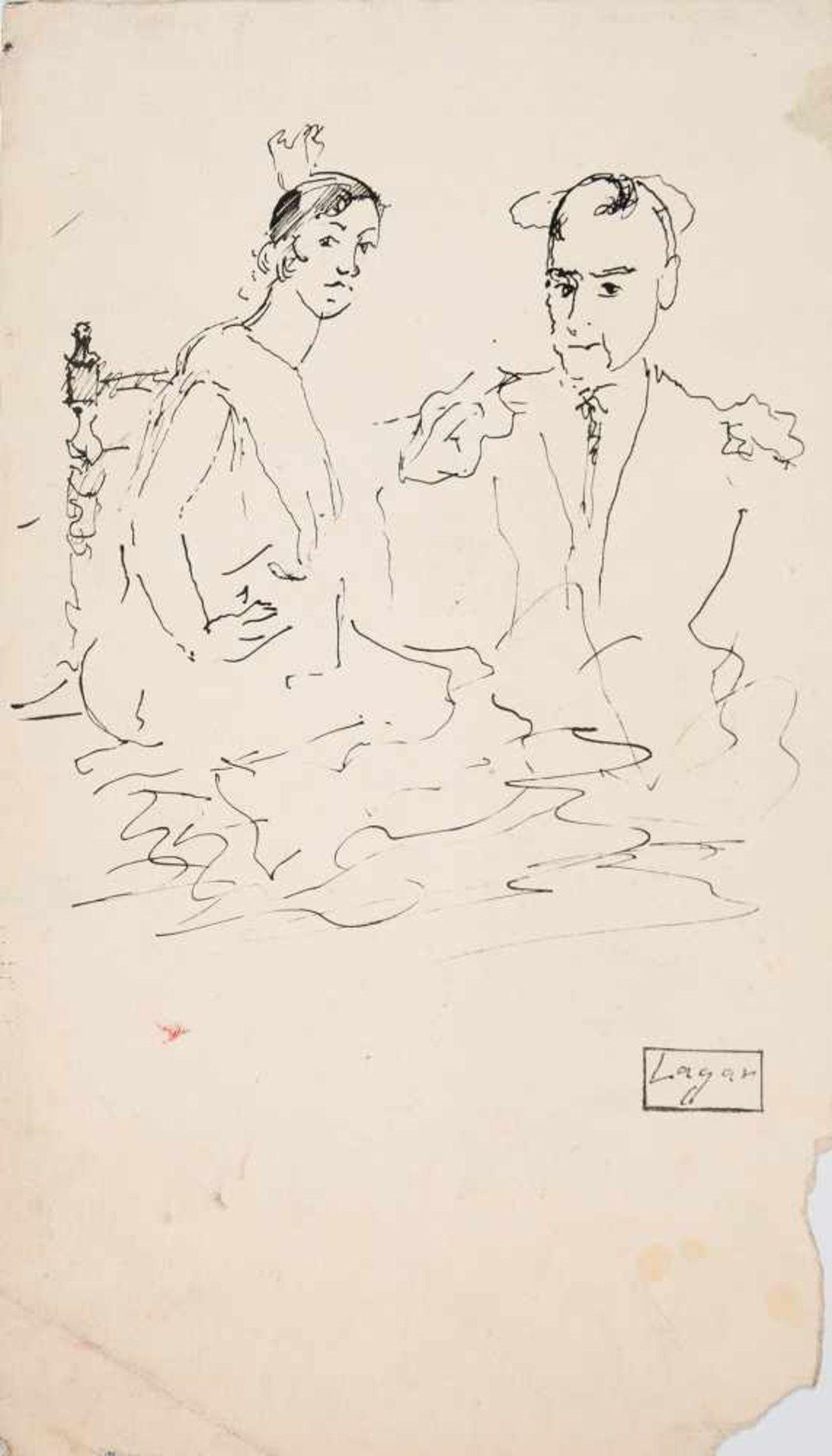Los 9 - Celso Lagar (Ciudad Rodrigo, 1891 - Sevilla, 1966)