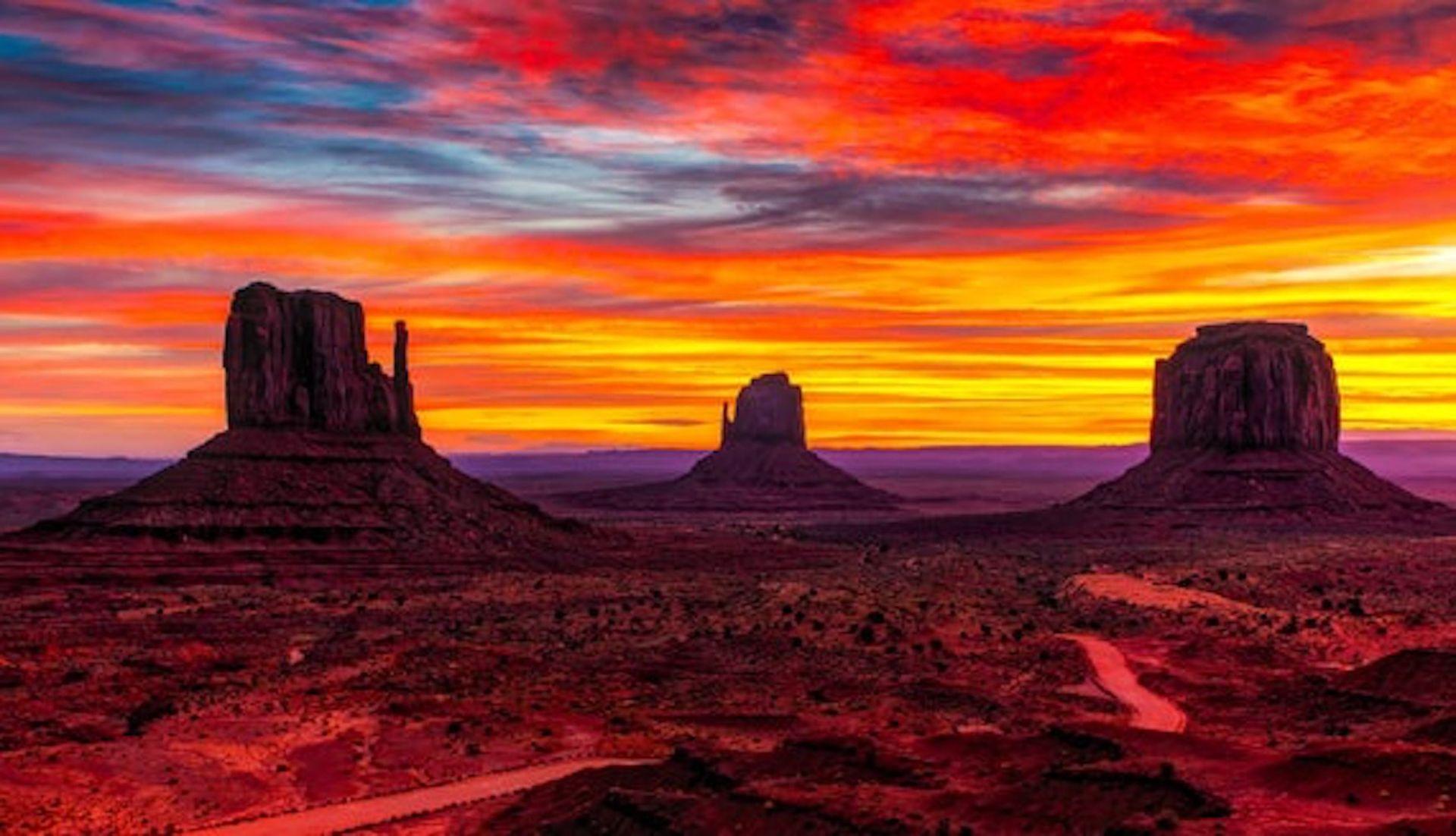 Iconic Vistas in Navajo County, Arizona