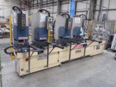 TECHNO PRIMA PR240TVH 4 Head Welder (2005)