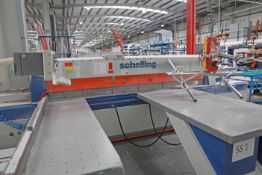 SCHELLING type Fi-330 Beam Saw (1994)