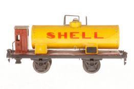 Märklin Shell Kesselwagen 1994, S 1, HL, mit BRH, tw nachlackiert, NV, L 24, als Ersatzteil