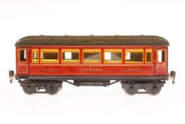 Märklin Mitropa Schlafwagen 1888, S 1, CL, mit Inneneinrichtung, 4 AT und Gussrädern, LS und
