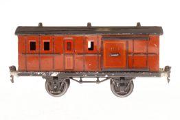 Märklin Gepäckwagen 1875, S 1, CL, mit 2 ST, LS, L 24, bespielt