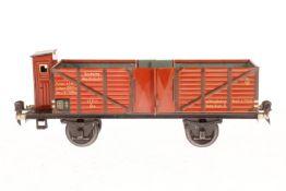 Märklin Hochbordwagen 1771, S 1, CL, mit BRH, Geländer am BRH fehlt, LS, L 27, Z 2-3