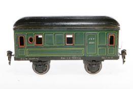 Märklin Gepäckwagen 1885, S 1, CL, LS tw ausgebessert, L 20,5, bespielt