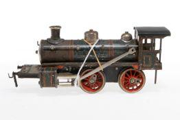 Bub B-Dampflok, S 1, uralt, Uhrwerk intakt, ohne Tender, tw verändert und NV, als Ersatzteil