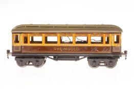 Märklin Rheingoldwagen 1749, S 1, CL, mit 4 AT, 1 Trittstufe verbogen, LS, L 33,5, Z 3