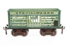 Märklin Glaswagen, S 1, uralt, handlackiert, mit 2 ST, Unterboden und teilweise rest.,