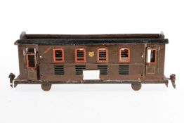 Märklin Lokgehäuse RS 66/13031, S 1, braun, nicht vollständig, als Ersatzteil