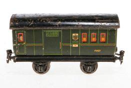 Märklin Postwagen, S 1, Chromlithographie, L 22, Z 4