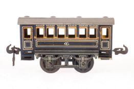 Carette Personenwagen, S 1, CL, 1 Kupplungshaken fehlt, LS, L 15, Z 3