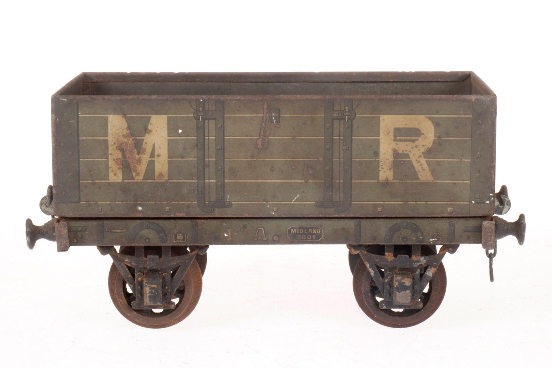 Märklin engl. offener Güterwagen, S 1, CL, L 18, Z 4