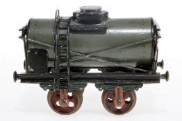 Märklin Tankwagen, S 2, uralt, Kupplungen fehlen, L 17, rest.