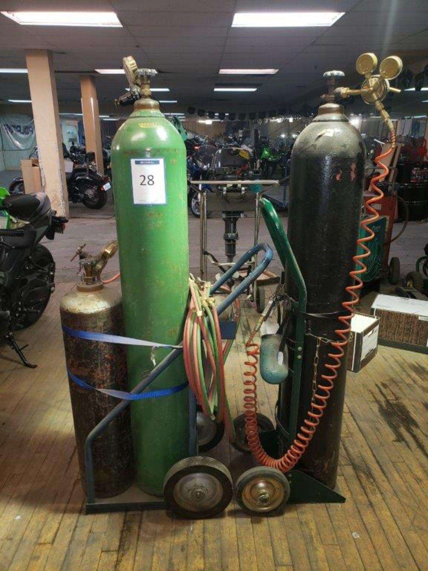 Lot 28 - chariot chalumeau et cadran 2