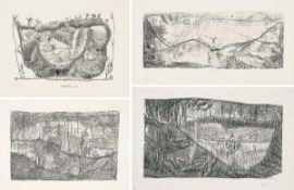 Altenbourg, Gerhard(Rödichen-Schnepfenthal 1926 - 1989 bei Meißen)Konvolut von vier Blatt