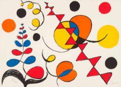 """Calder, Alexander(Lawnton bei Philadelphia 1898 - 1976 New York)o.T. (Aus """"La Mémoire Élémentaire"""")."""