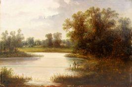 Bruno, H.wohlMotiv an der Ybbs, NiederösterreichSign. H. B(unleserlich). Öl auf Holz. 20,8×31,4
