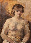 Kindt, Max (Starkenhorst, Berlin 1896-1970)Vier verschiedene Porträtsa) Halbakt. b) Dame mit