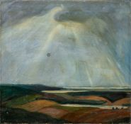 Kindt, Max (Starkenhorst, Berlin 1896-1970)Drei verschiedene Gemäldea) Landschaft mit