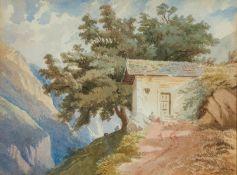 Calame, Alexandre (Vevey, Mentone 1810 - 1864) , zugeschrieben