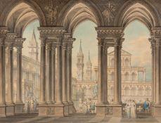 Architekturzeichner (Mitte 19. Jh.)