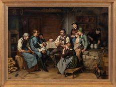Defregger, Franz von (Ederhof, München 1835-1921) , Kopie nach