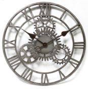Fiora The Cog 50.8cm Large Wall Clock - RRP £76.99