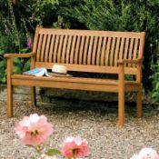 Mayela Wooden Bench - RRP £139.99